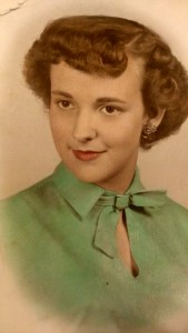 The senior portrait of Lois Brown